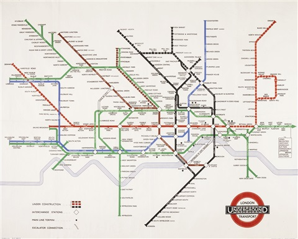 london underground map london